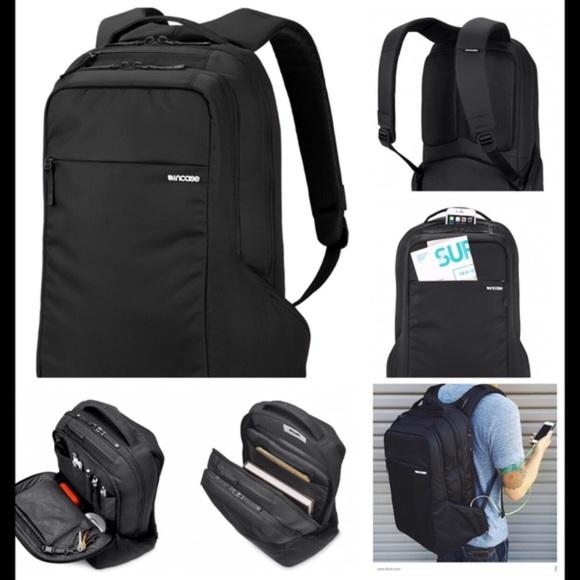 245c7f5a74 EUC Black Incase Slim Icon Backpack